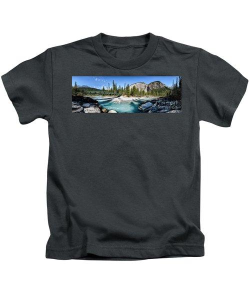 Takakkaw Falls Kids T-Shirt