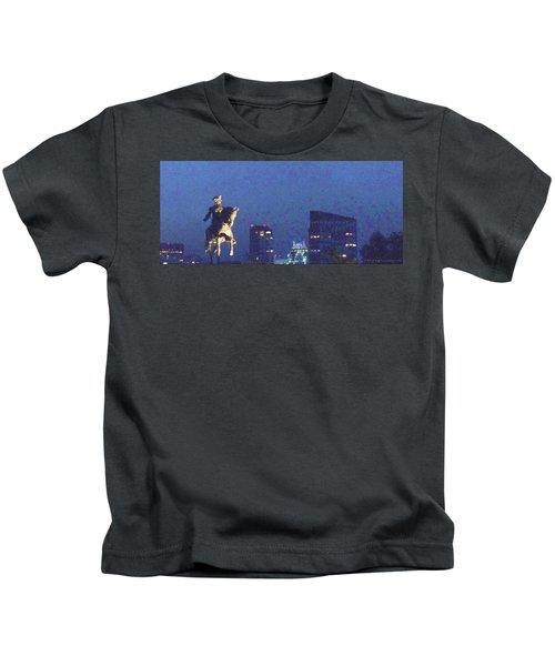 Takin' On Boston Kids T-Shirt