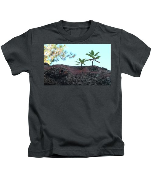 Taking A Walk Kids T-Shirt