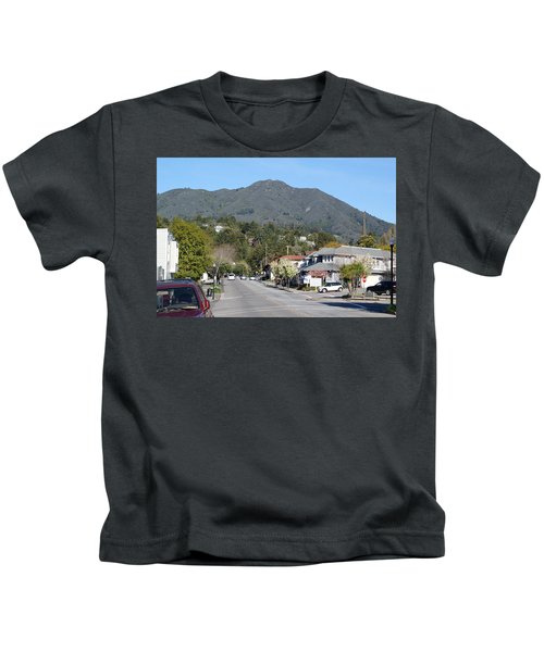 Tamalpais From Mill Valley Kids T-Shirt