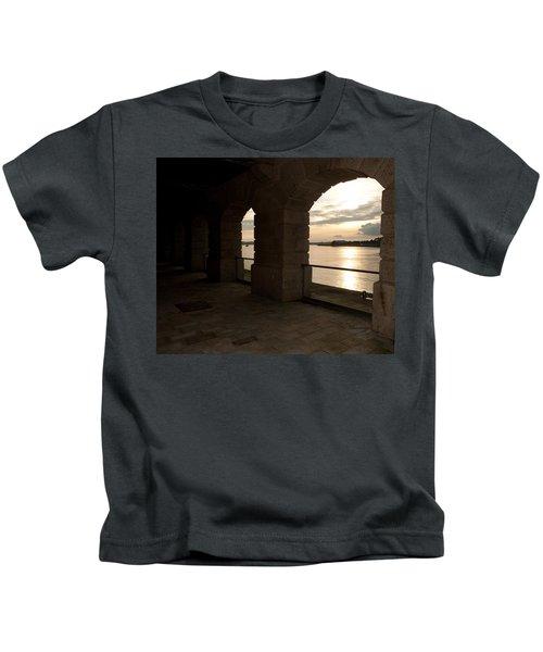 Tamar Estuary Sunset Kids T-Shirt