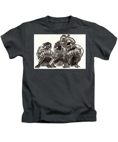 Tango Musicians Kids T-Shirt