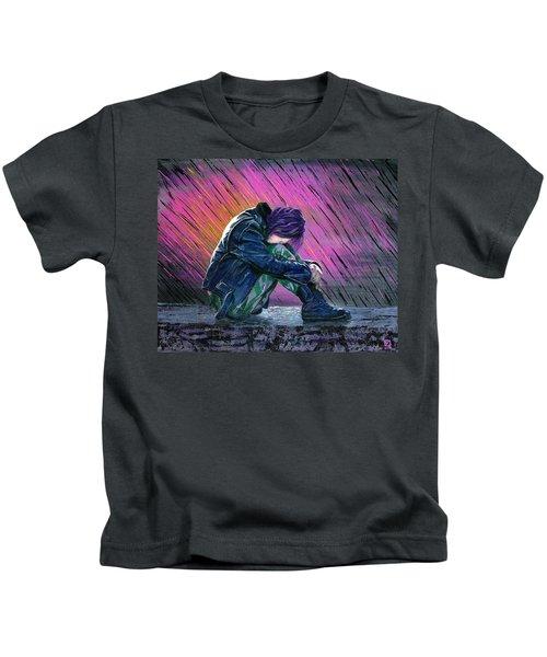 Tears In The Rain Kids T-Shirt