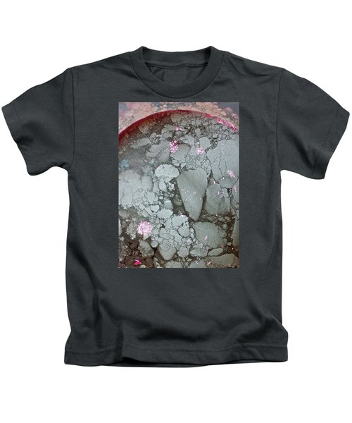 Tectonic With Sky Above And Below Kids T-Shirt