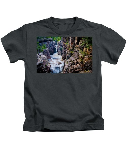 Temperance River Gorge Kids T-Shirt