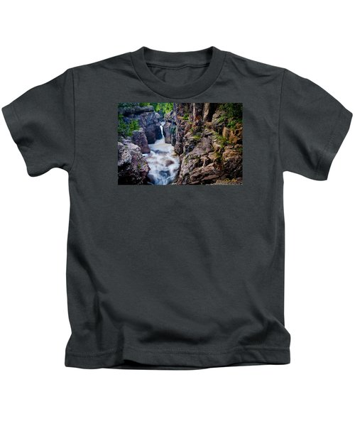 Temperance River Gorge Kids T-Shirt