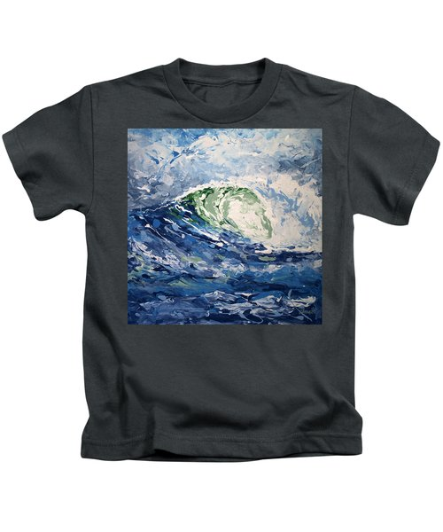 Tempest Abstract Kids T-Shirt