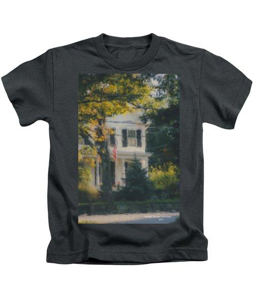 Ten Lincoln Street, Easton, Ma Kids T-Shirt
