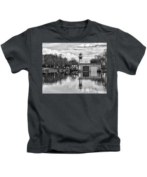 Tenney Lock 3 - Madison - Wisconsin Kids T-Shirt