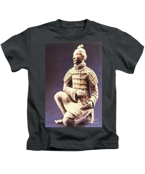 Terracotta Soldier Kids T-Shirt