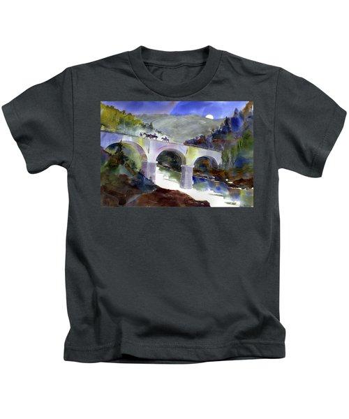 Tevis Crossing 3am Kids T-Shirt