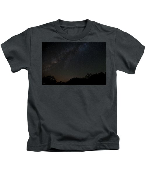 Texas At Night Kids T-Shirt