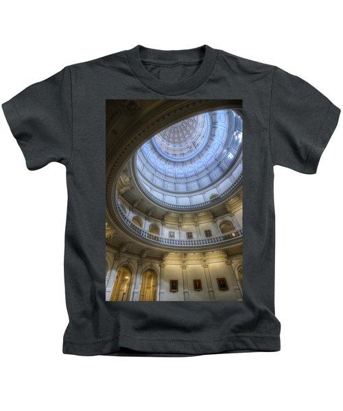 Texas Capitol Dome Interior Kids T-Shirt