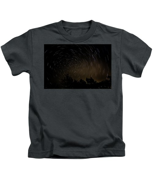 Texas Star Trails Kids T-Shirt