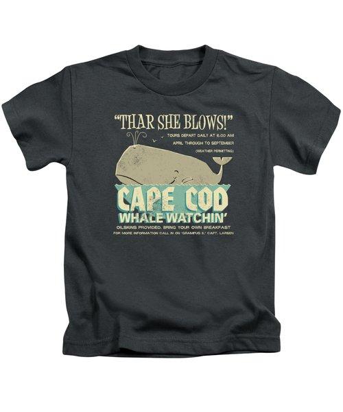 Thar She Blows Kids T-Shirt