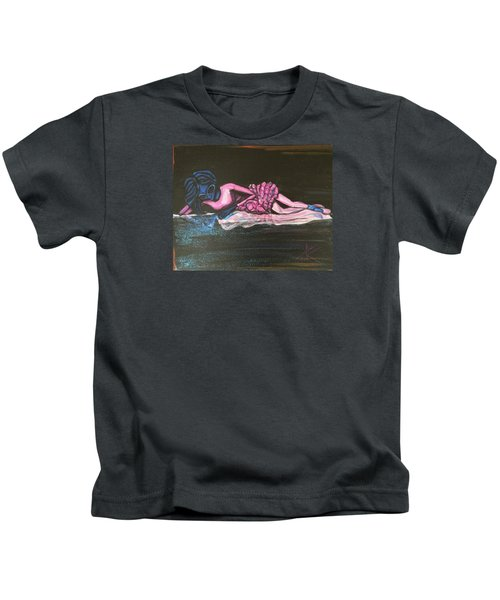 The Alien Ballerina Kids T-Shirt