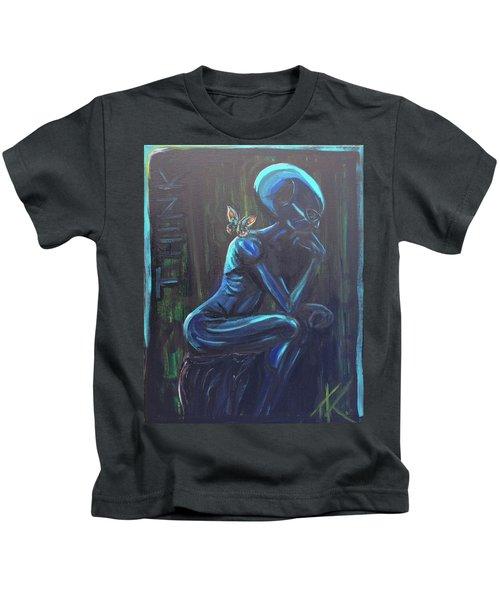 The Alien Thinker Kids T-Shirt
