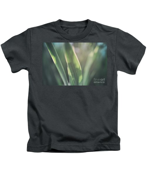 The Allotment Project - Sweetcorn Leaves Kids T-Shirt