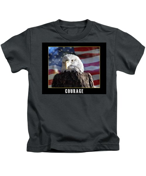 The American Bald Eagle Kids T-Shirt