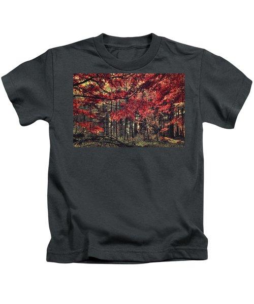 The Autumn Colors Kids T-Shirt