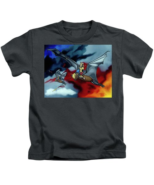 The Bat Riders Kids T-Shirt