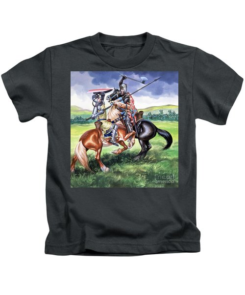 The Battle Of Bannockburn Kids T-Shirt