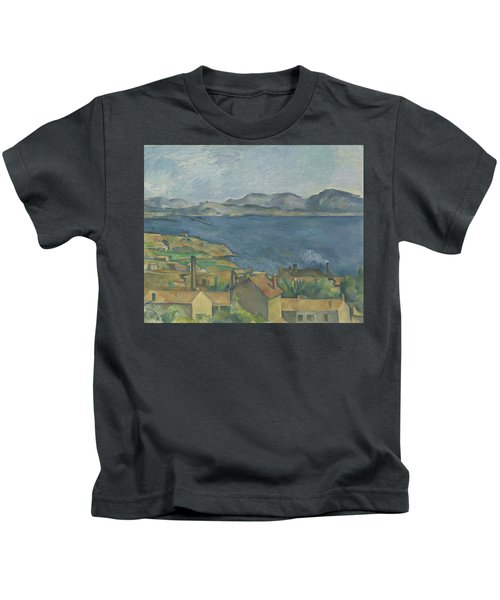 The Bay Of Marseille Kids T-Shirt