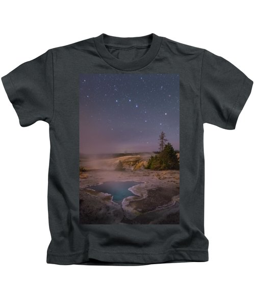 The Big Dipper In Yellowstone National Park Kids T-Shirt