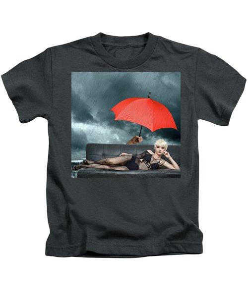 The Black Widow Kids T-Shirt