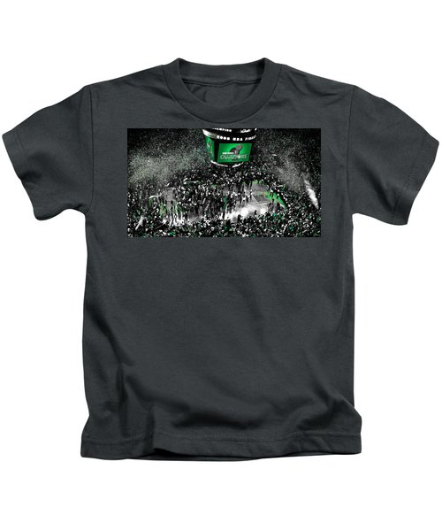 The Boston Celtics 2008 Nba Finals Kids T-Shirt