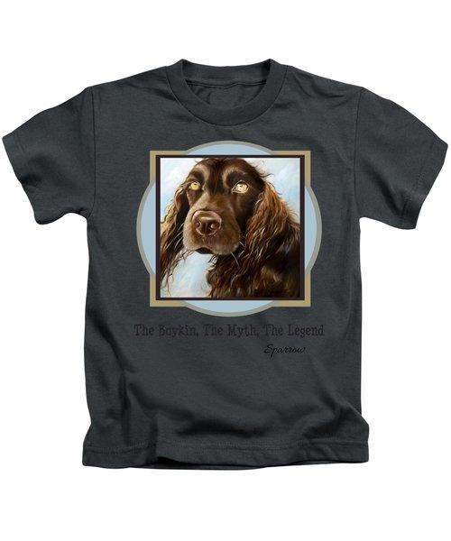 The Boykin, The Myth, The Legend Kids T-Shirt