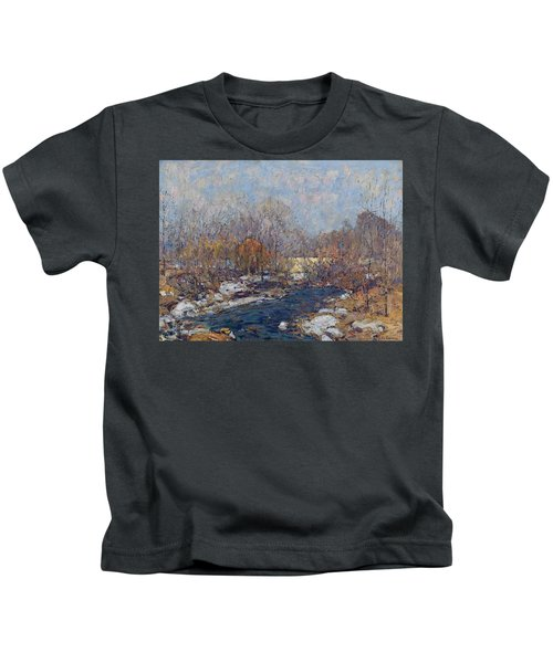 The Bridge  Garfield Park  By William J  Forsyth Kids T-Shirt