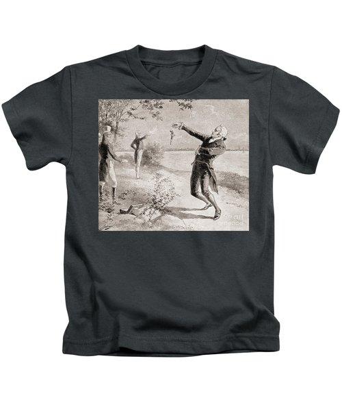 The Burr Hamilton Duel Kids T-Shirt