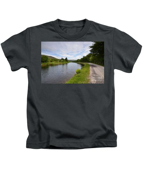 The Caledonian Canal Kids T-Shirt