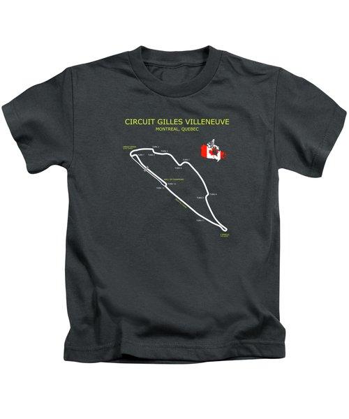 The Circuit Gilles Villeneuve Kids T-Shirt