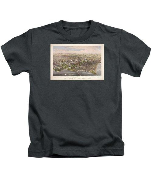 The City Of Washington Kids T-Shirt