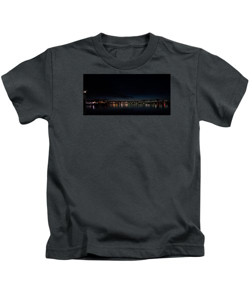 The Colors Of A Nightly Bridge Kids T-Shirt