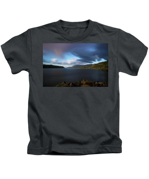 The Columbia River Gorge Signed Kids T-Shirt
