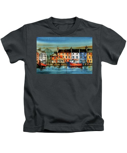 The Commercial Docks, Galway Citie Kids T-Shirt