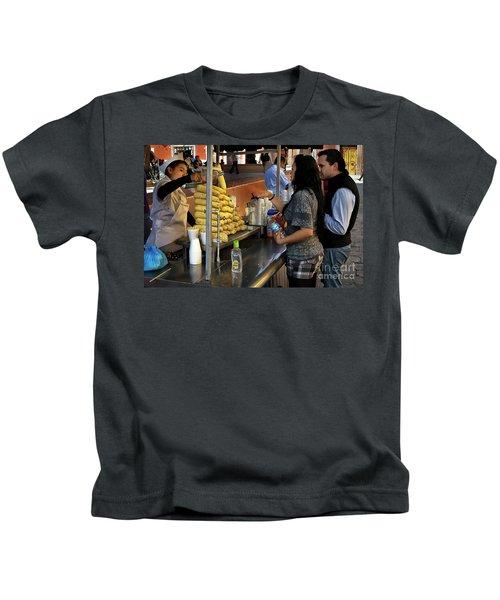 The Corn Vendor Kids T-Shirt