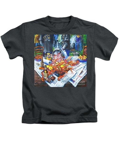 The Crawfish Boil Kids T-Shirt