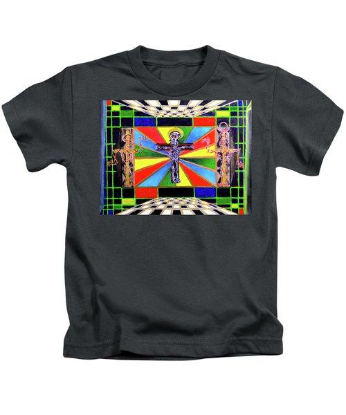 The Crucifffictiooon - Paradisi Gloooria Kids T-Shirt