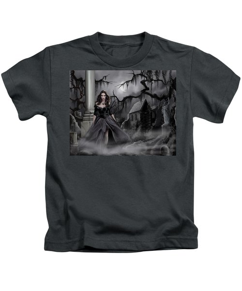 The Dark Caster Comes Kids T-Shirt