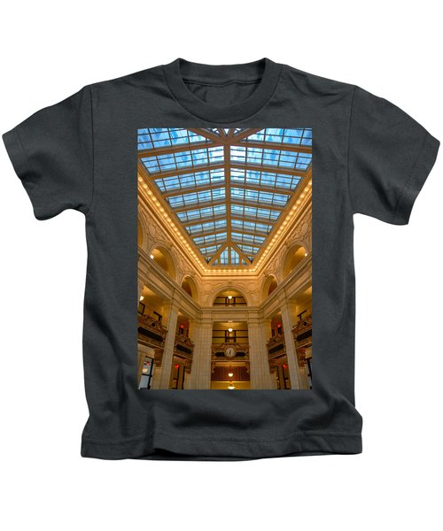 The David Whitney Building Kids T-Shirt