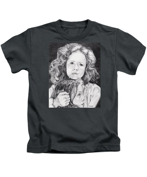 The Devil Has Come Home Kids T-Shirt