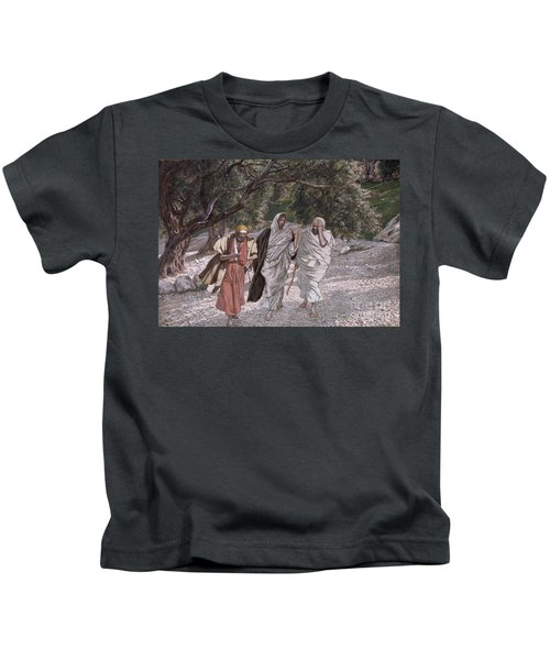 The Disciples On The Road To Emmaus Kids T-Shirt