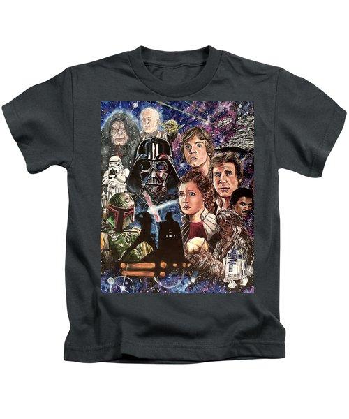 The Empire Strikes Back Kids T-Shirt