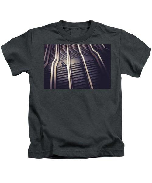 The Empty Train Kids T-Shirt