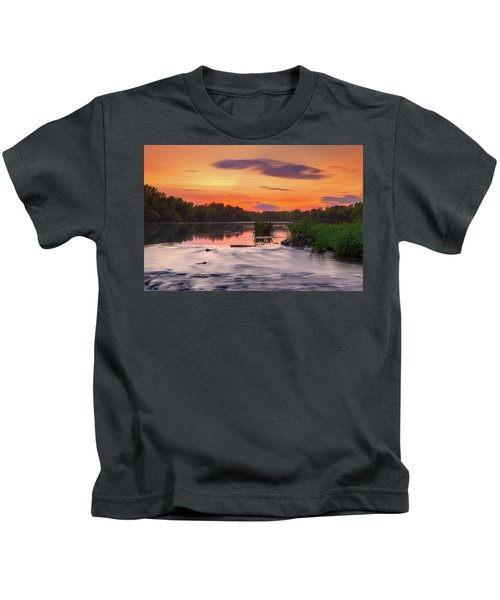The Eve On The River Kids T-Shirt