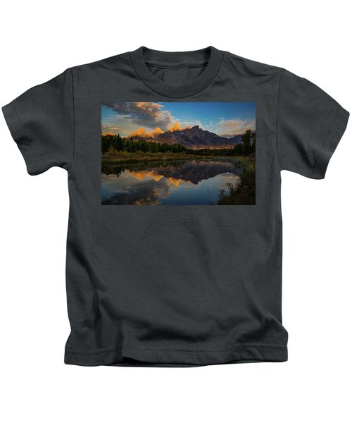 The First Light Kids T-Shirt by Edgars Erglis